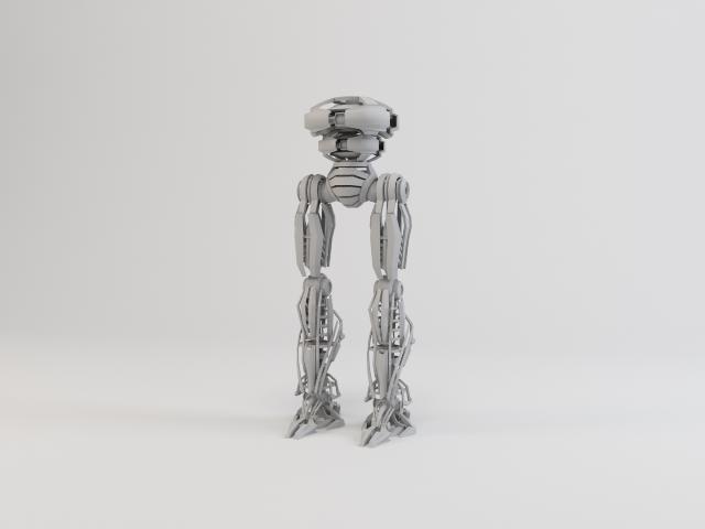 model robot zeg4000 3d 3ds max fbx obj 119775
