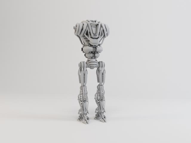 model robot zeg4000 3d 3ds max fbx obj 119776
