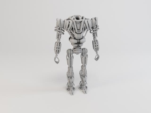 model robot zeg4000 3d 3ds max fbx obj 119777