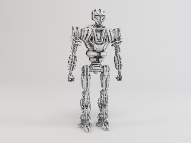 model robot zeg4000 3d 3ds max fbx obj 119778