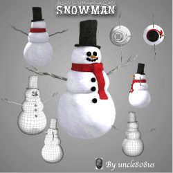 Snowman ( 326.33KB jpg by uncle808us )
