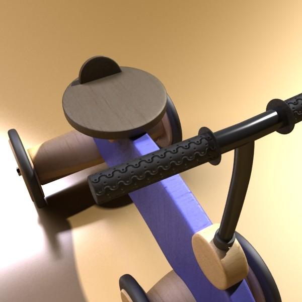 koka izjādes rotaļlietu velosipēds 3d modelis max fbx obj 131719