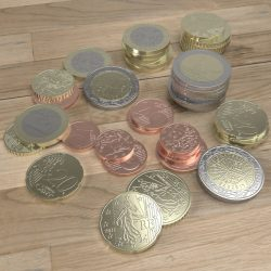 French Euro coins ( 292.52KB jpg by Pixelblock )