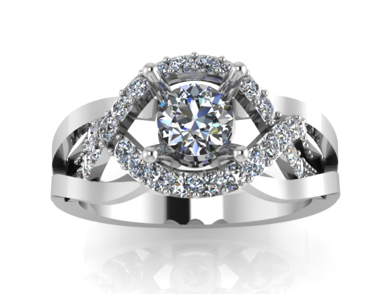 jewelry wedding ring 2 3d model 153985