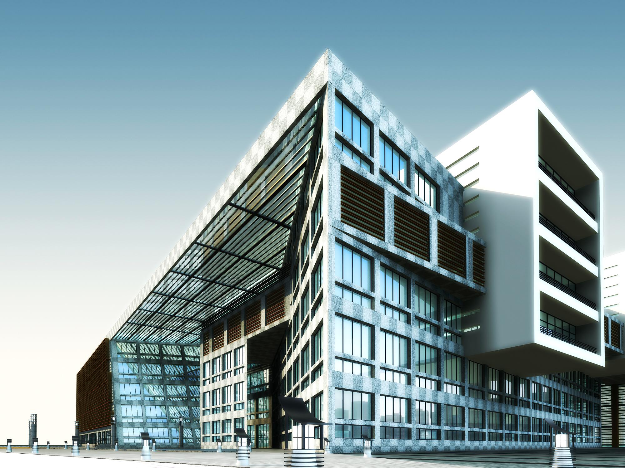 3d building 336 3d model buy 3d building 336 3d model for 3d max building