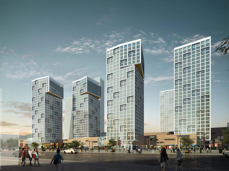 3D Building  Cityscape 114 ( 4076.76KB jpg by kanhtart )