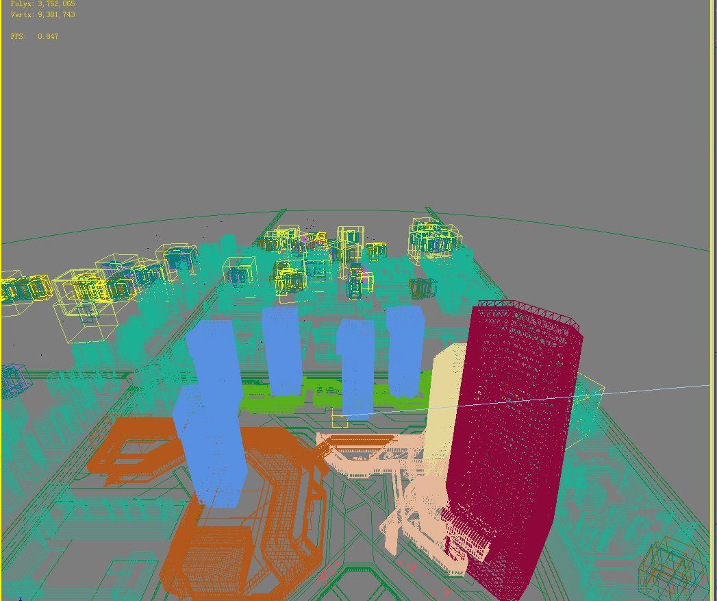 3D Building  Cityscape 114 ( 862.19KB jpg by kanhtart )