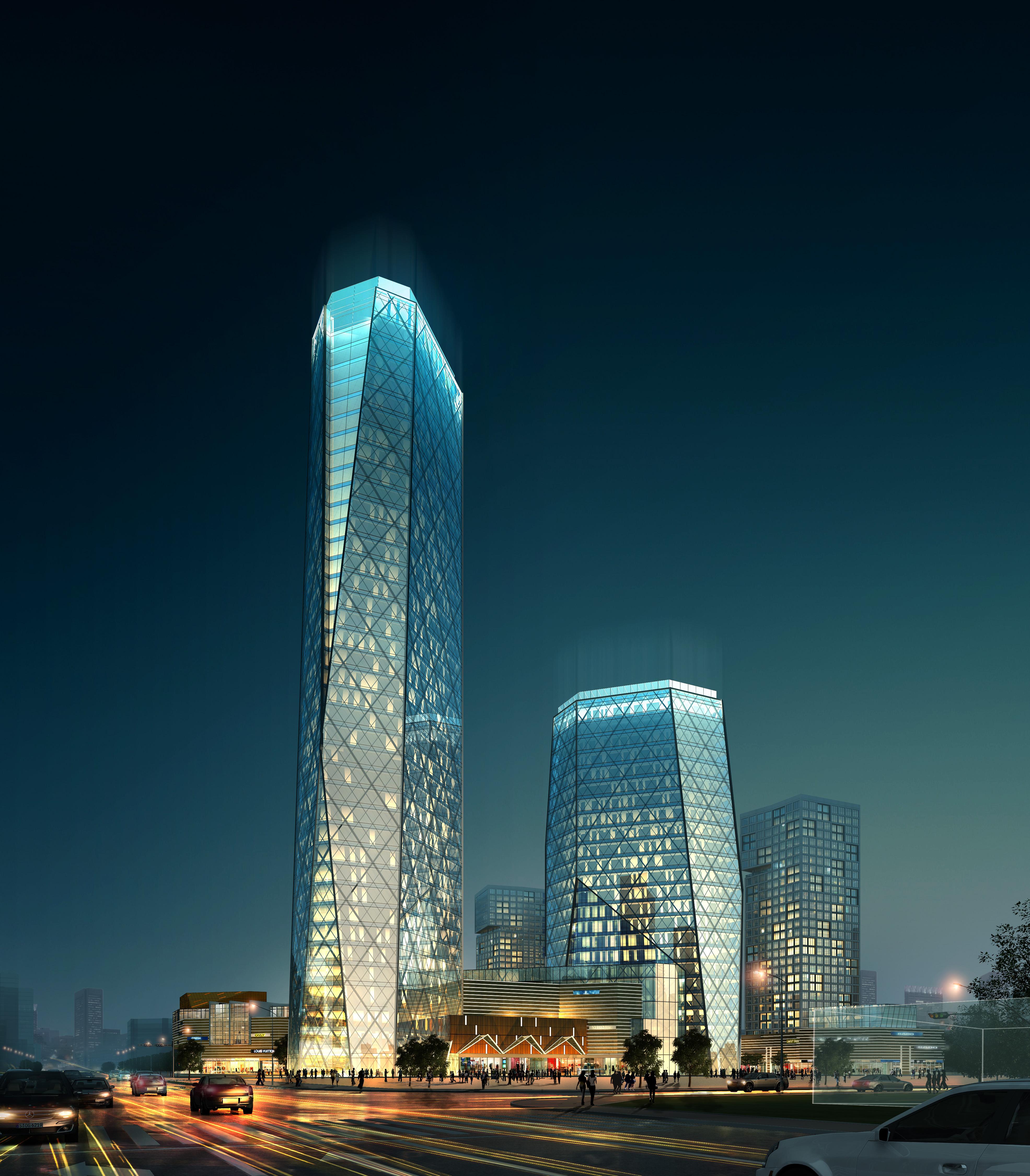 3d building cityscape 087 3d model buy 3d building for 3d house builder