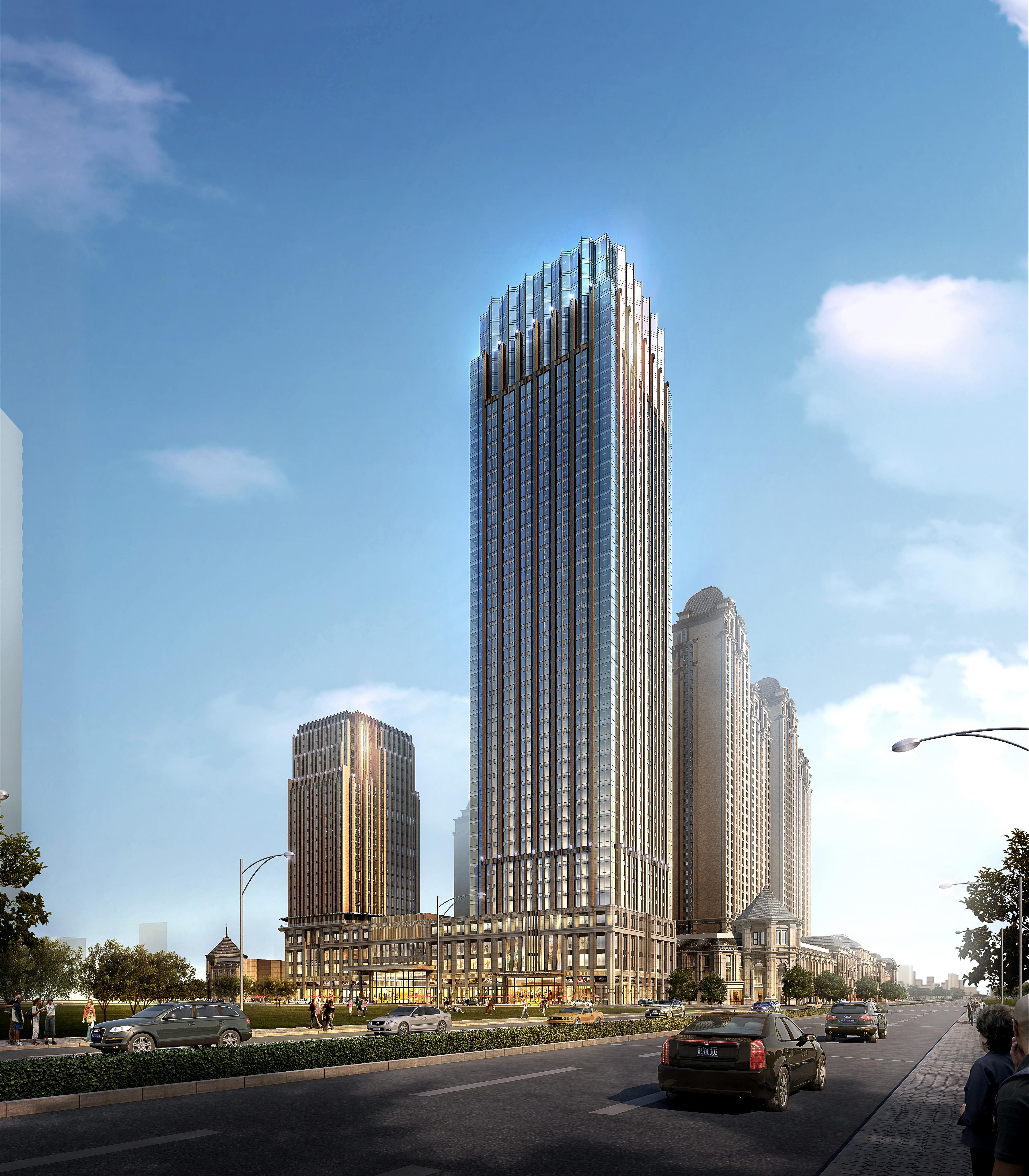 3d building cityscape 116 3d model buy 3d building for 3d max building