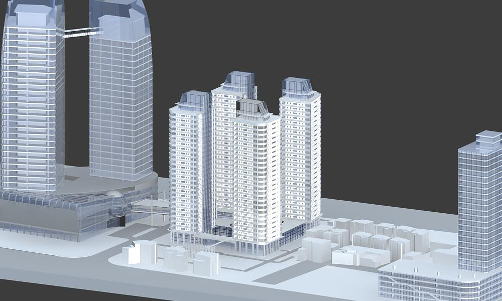 architecture 005 3d model 3ds max 141743