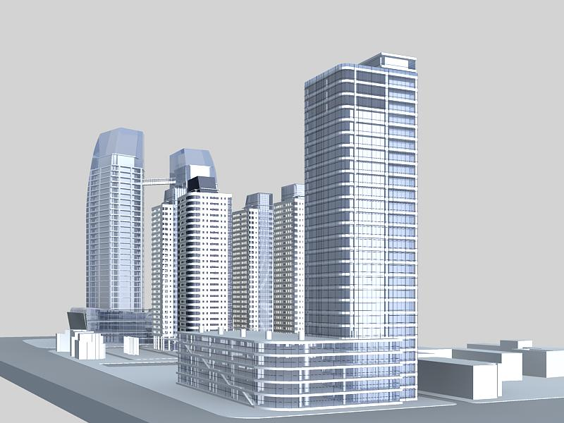 architecture 005 3d model 3ds max 141744