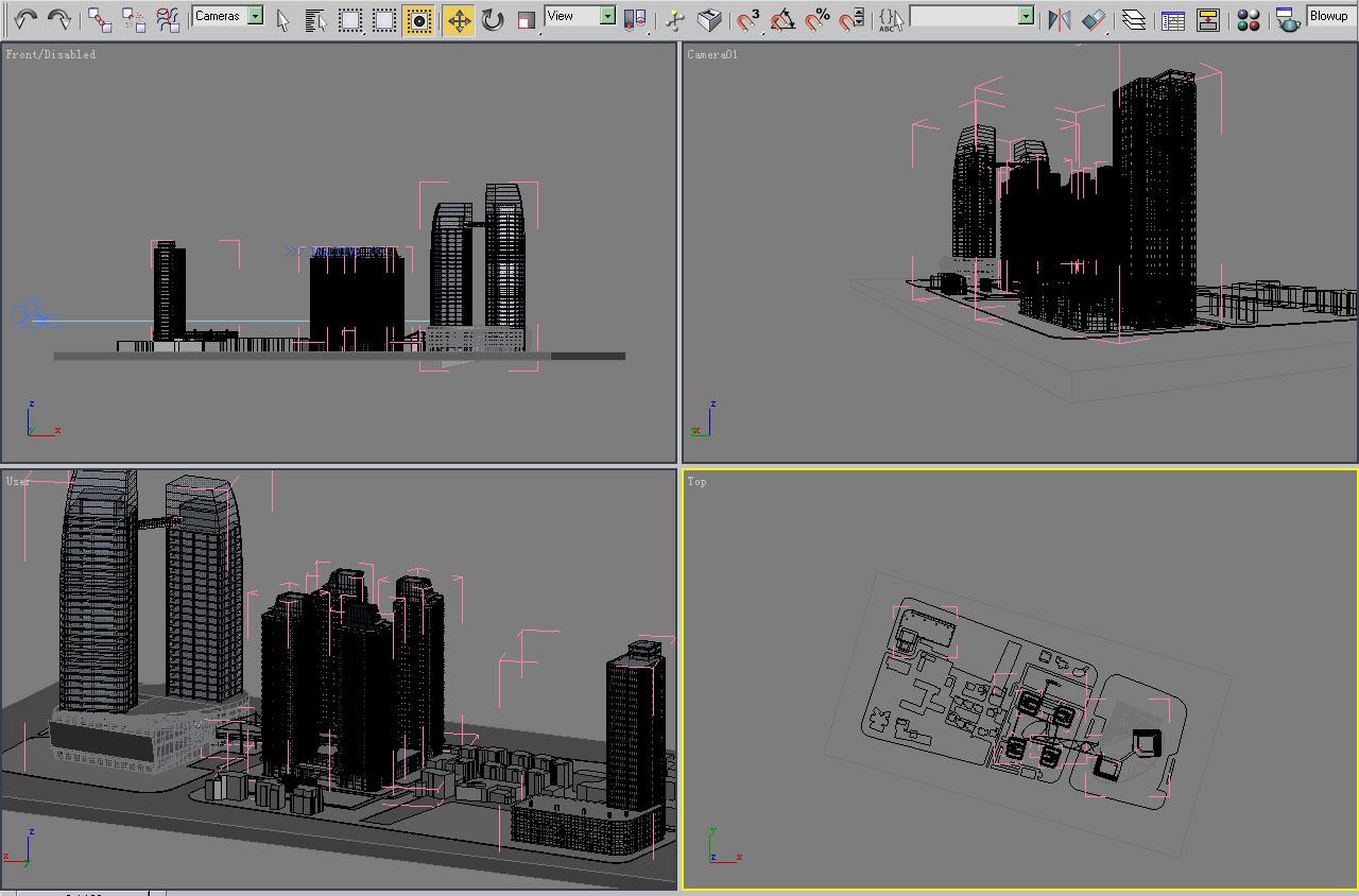 architecture 005 3d model 3ds max 141745