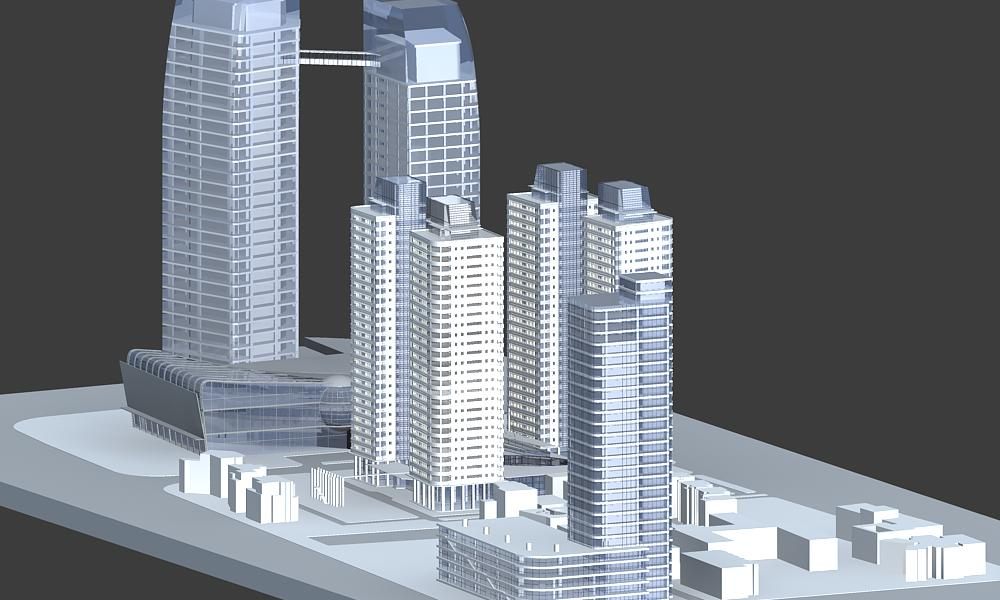 architecture 005 3d model 3ds max 141746