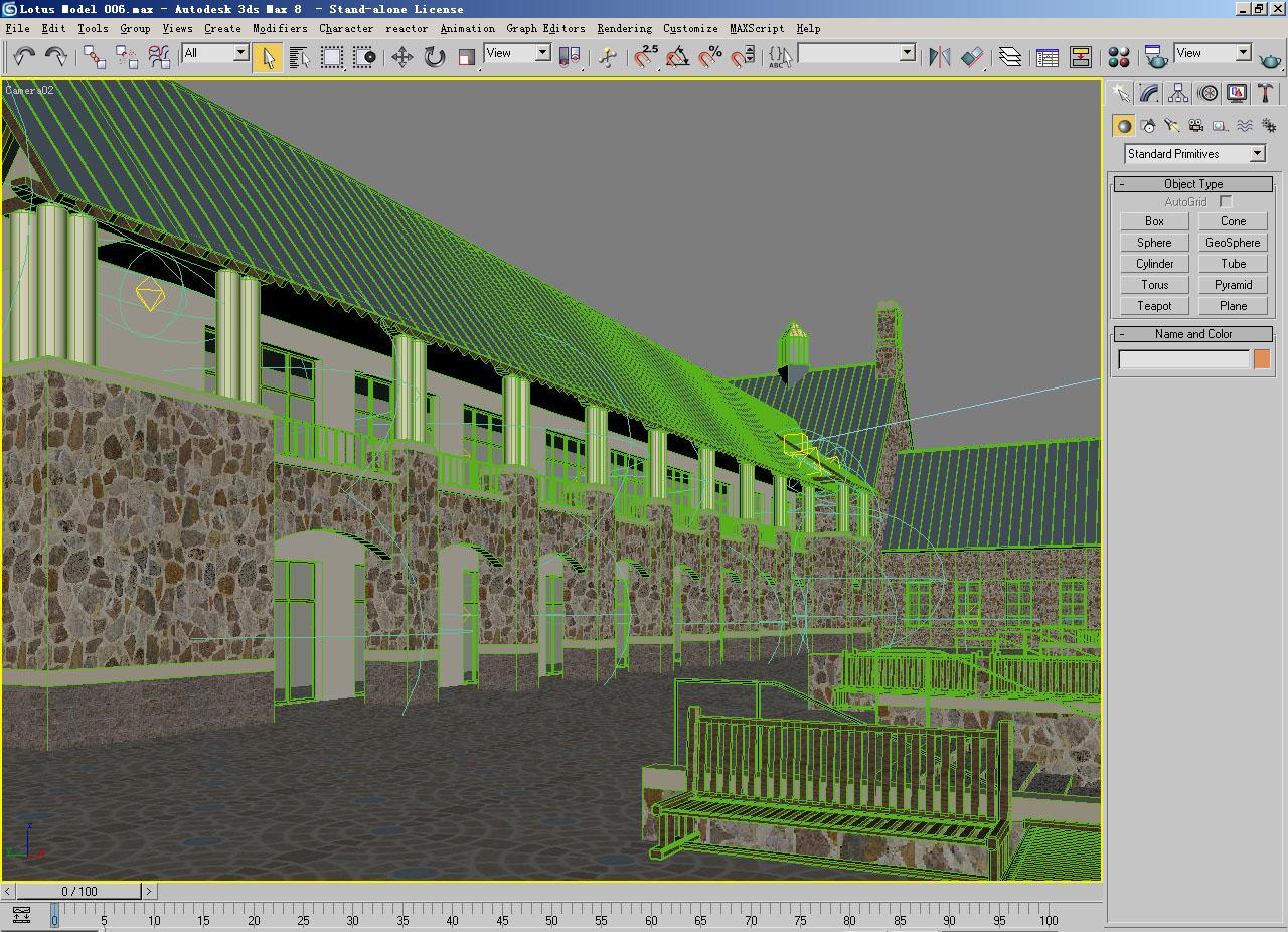 architecture 006 3d model 3ds max 141748