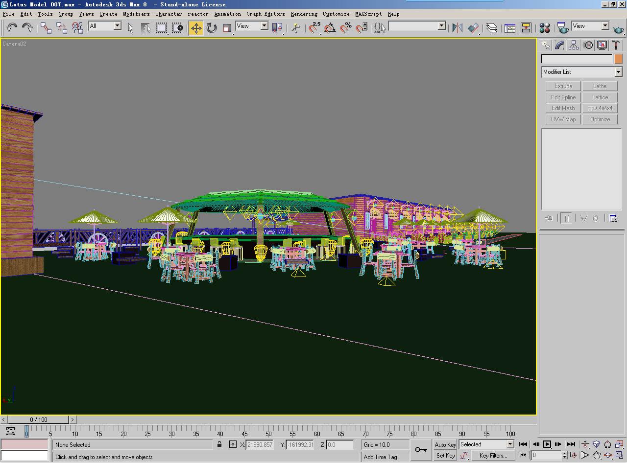 architecture 007 3d model 3ds max 141623
