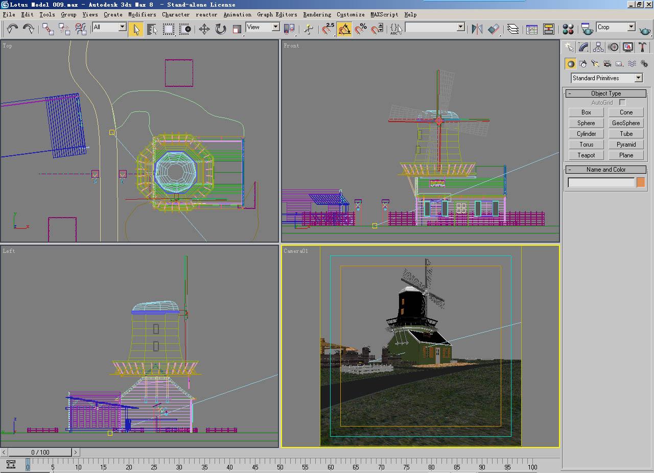 arhitektūra 009 3d modelis 3ds max 141626
