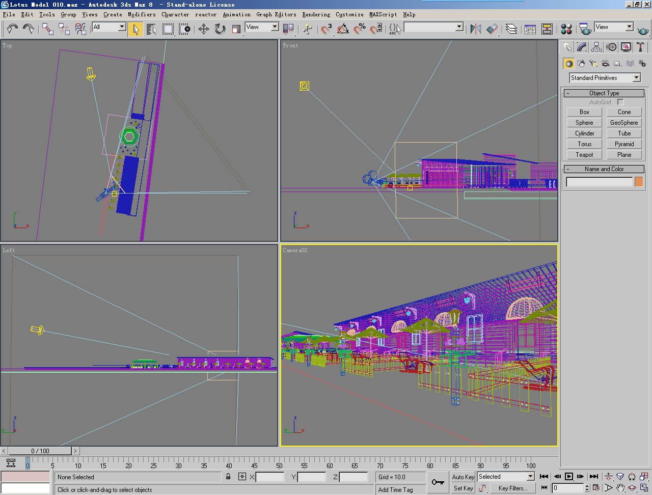 architecture 010 3d model 3ds max 141628
