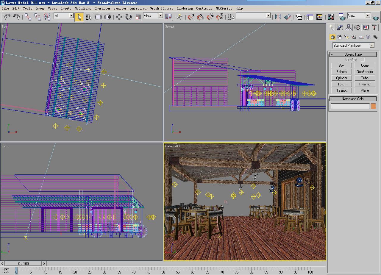 architecture 011 3d model 3ds max 141736