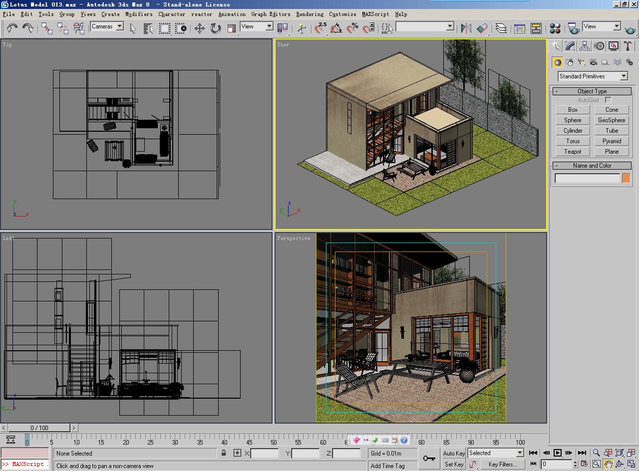 architecture 013 3d model 3ds max 141752