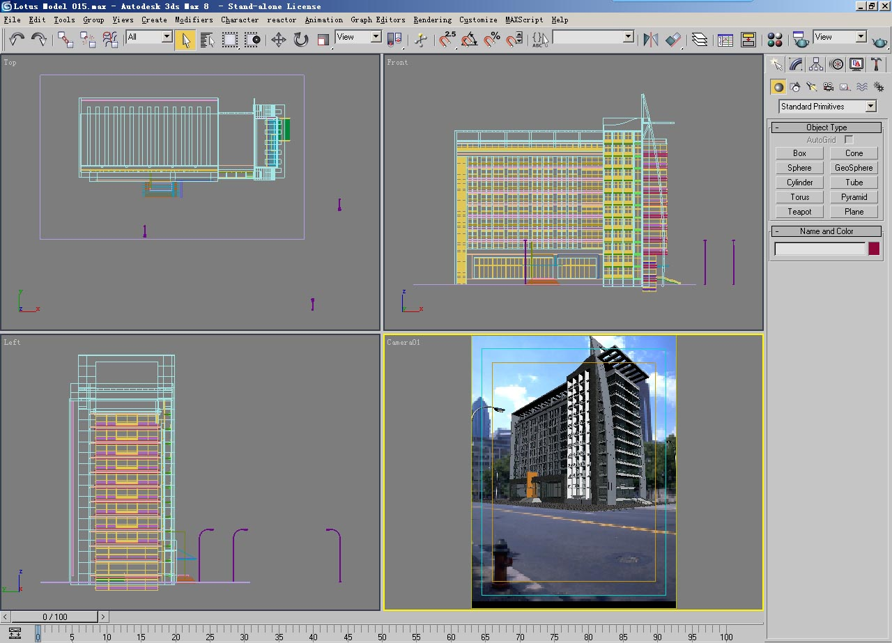 architecture 014 3d model max psd 141756