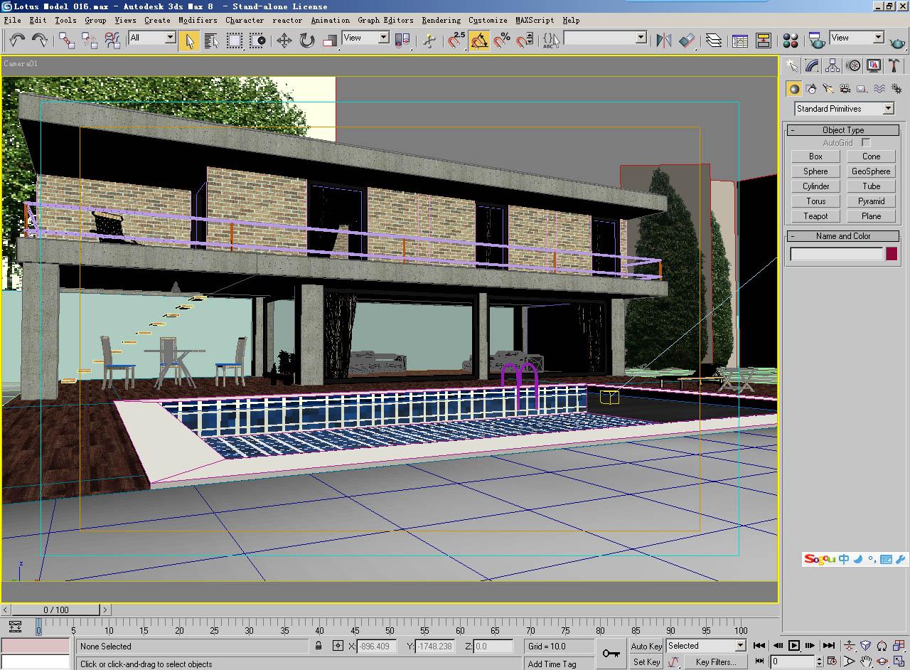 architecture 015 3d model 3ds max 141758