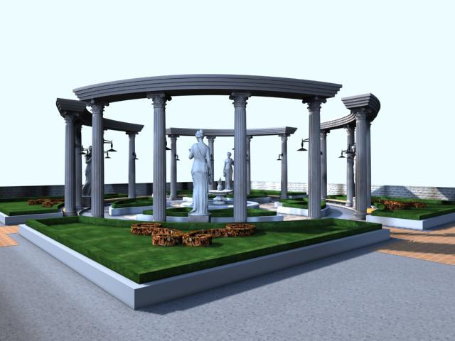 architecture 016 3d model max 141759