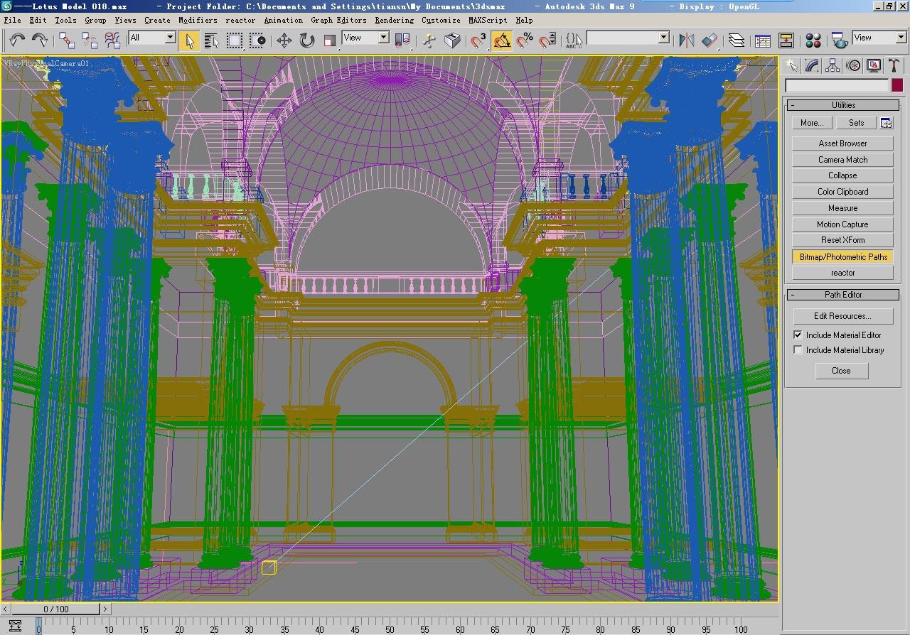 architecture 017 3d model 3ds max fbx 141630