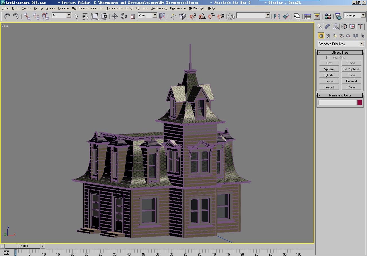 architecture 018 3d model 3ds max 141632