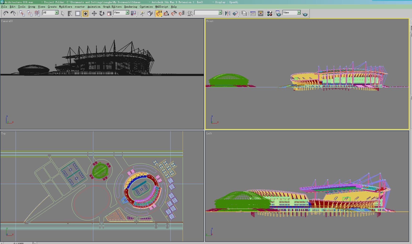 architecture 019 3d model 3ds max 141635