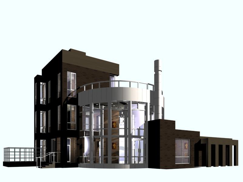 architecture 021 3d model 3ds max 141640