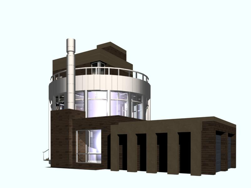 architecture 021 3d model 3ds max 141641
