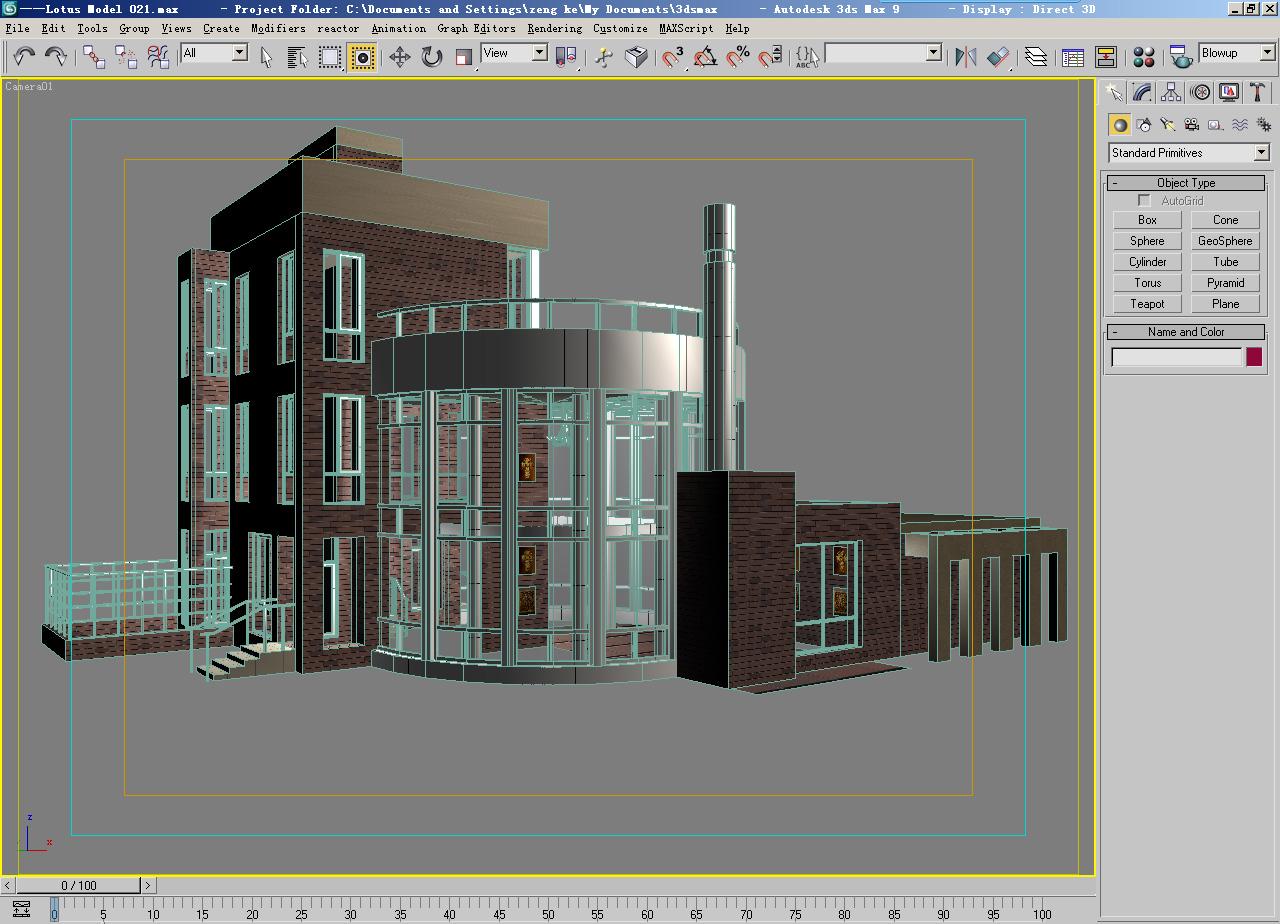 architecture 021 3d model 3ds max 141642