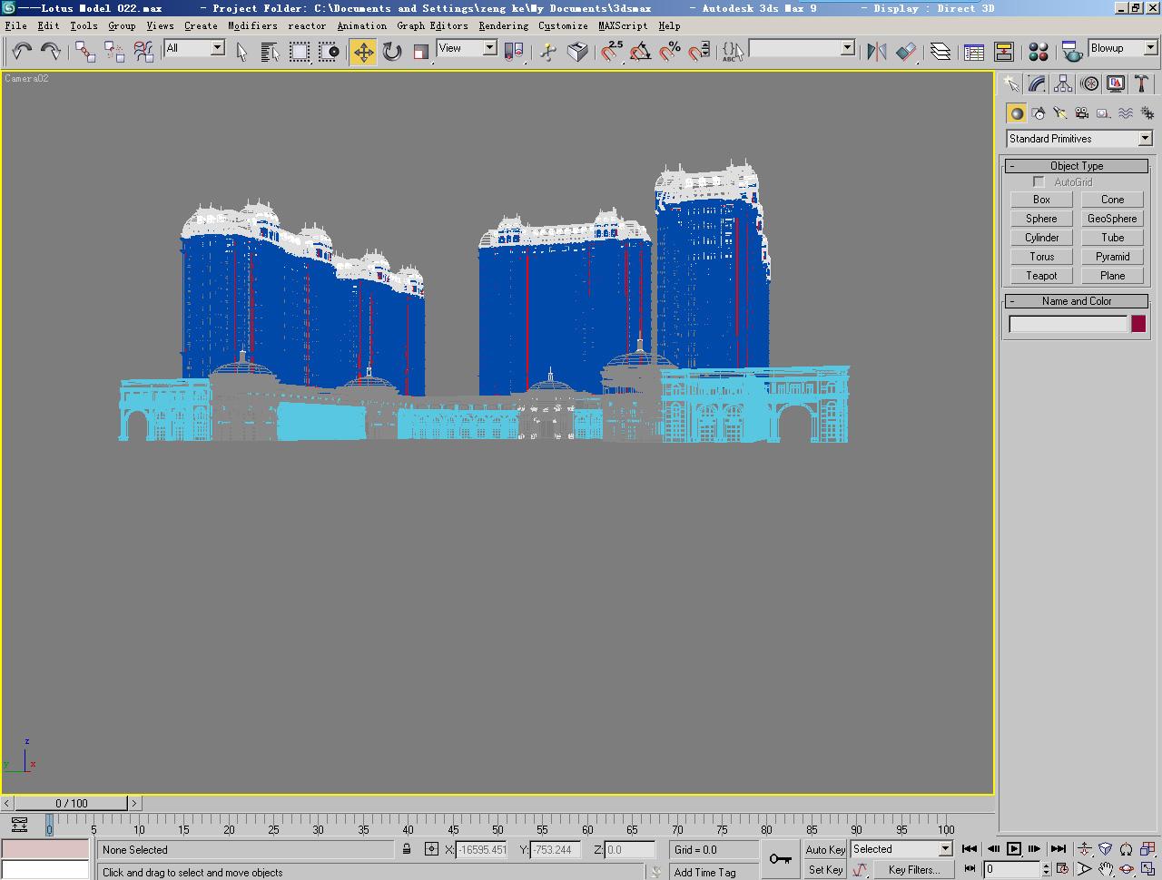 architecture 022 3d model max 141644