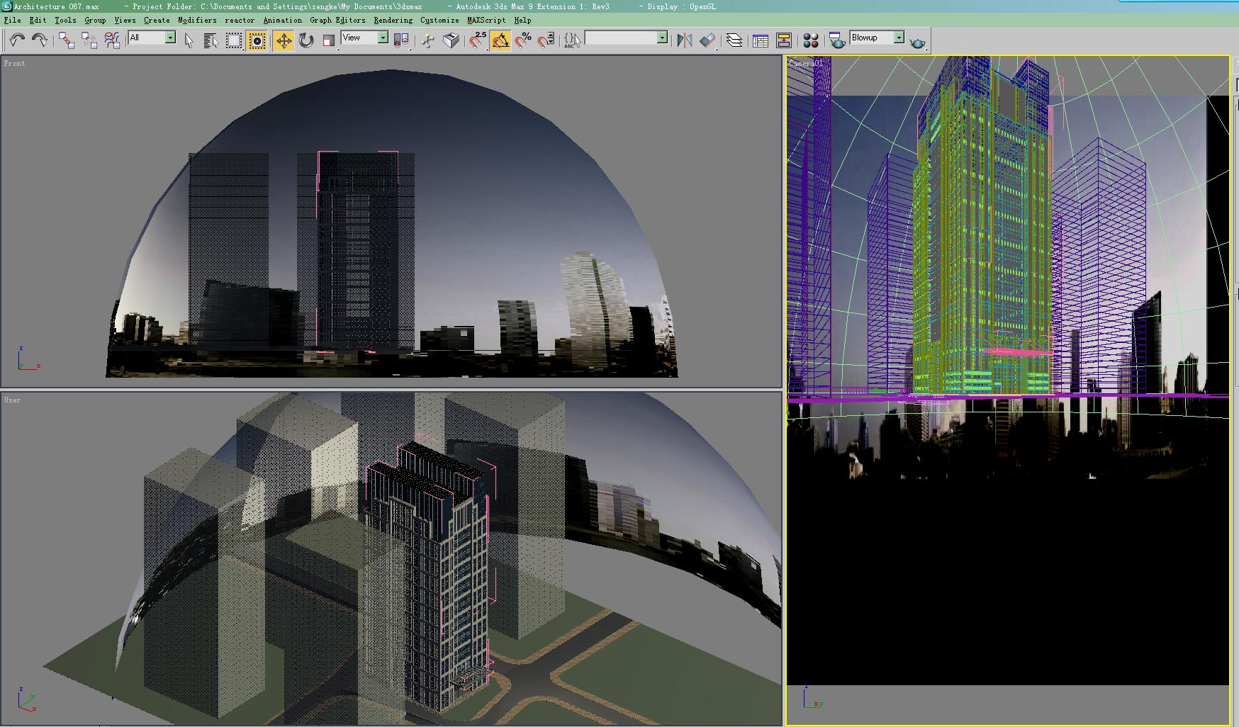 architecture 023 3d model 3ds max 141646