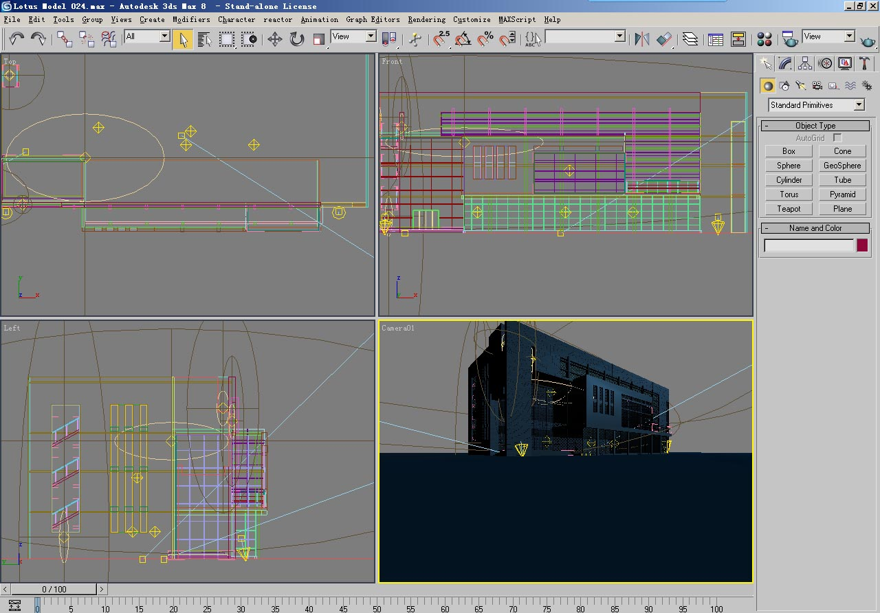 architecture 024 3d model 3ds max psd 141648