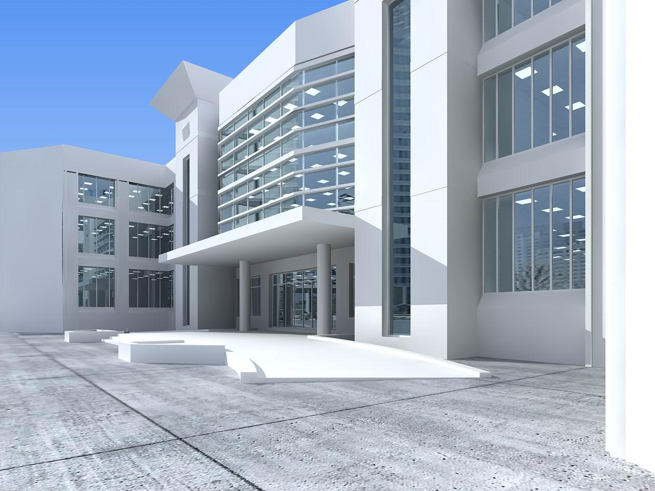 architecture 025 3d model 3ds max 141667