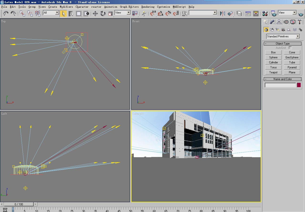architecture 026 3d model 3ds max psd 141670