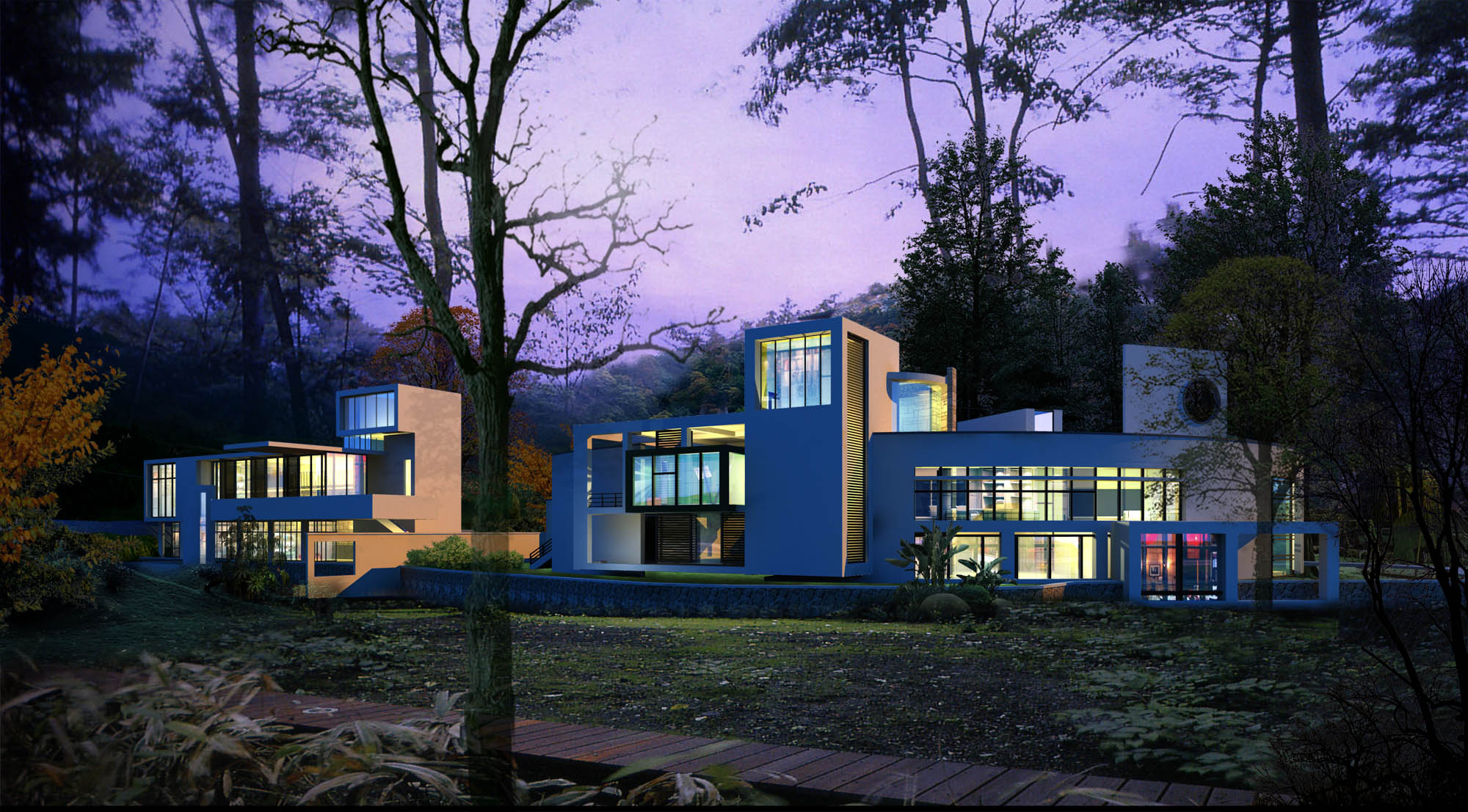 arhitektūra 028 3d modelis 3ds psd 141673