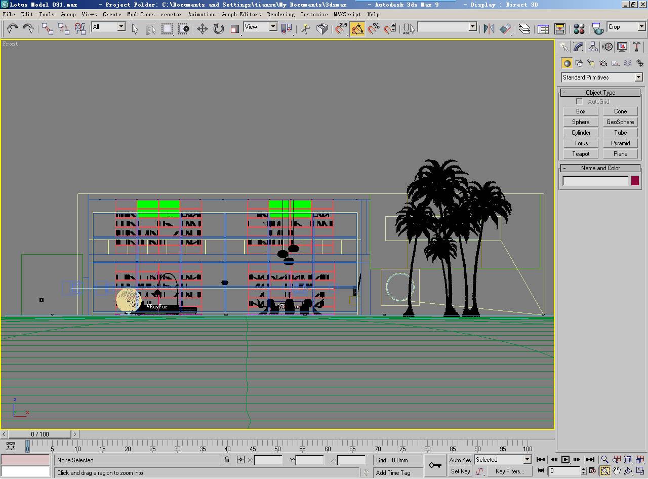 architecture 031 3d model max 141689