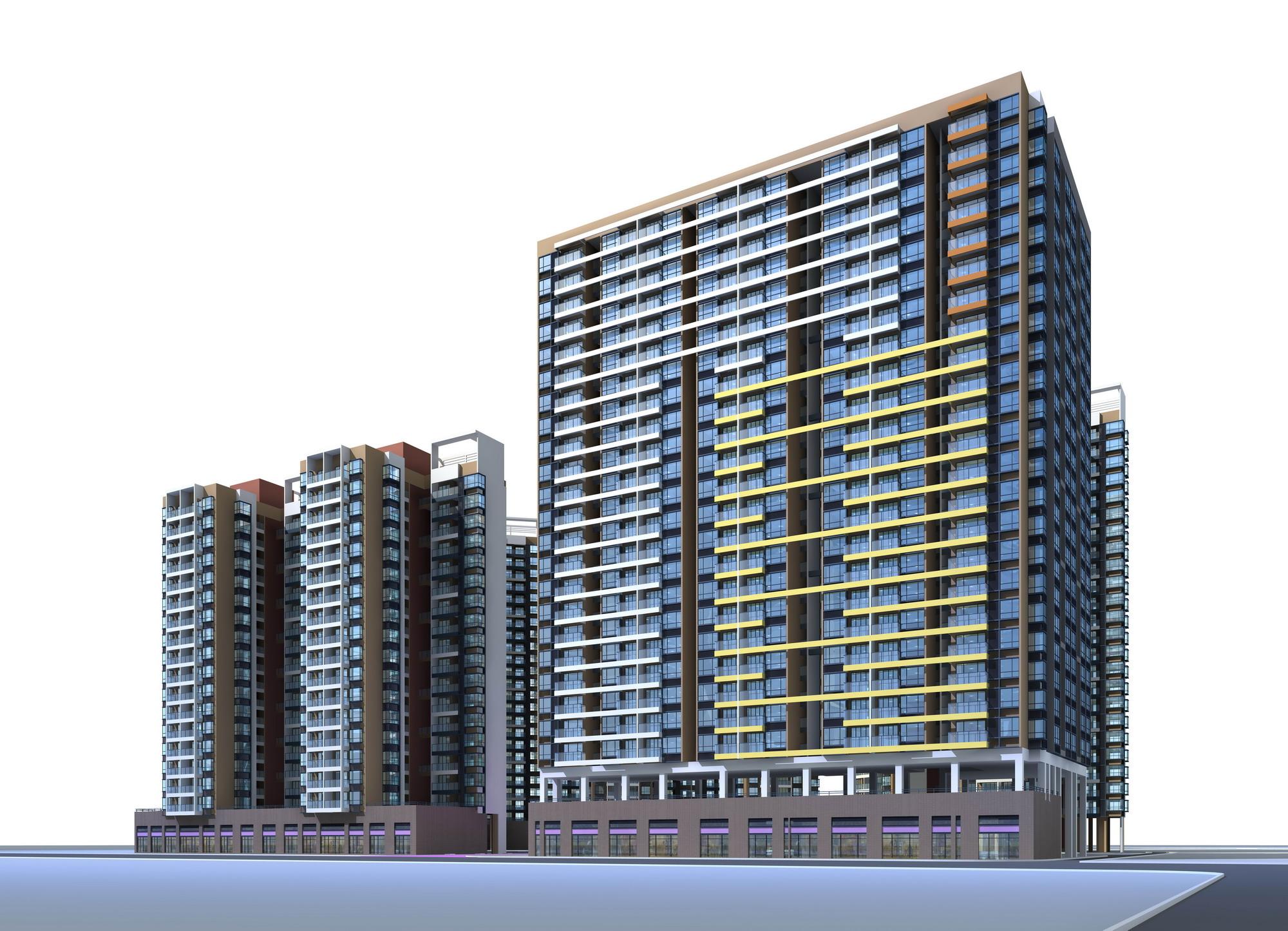 architecture 033 3d model 3ds max 141690