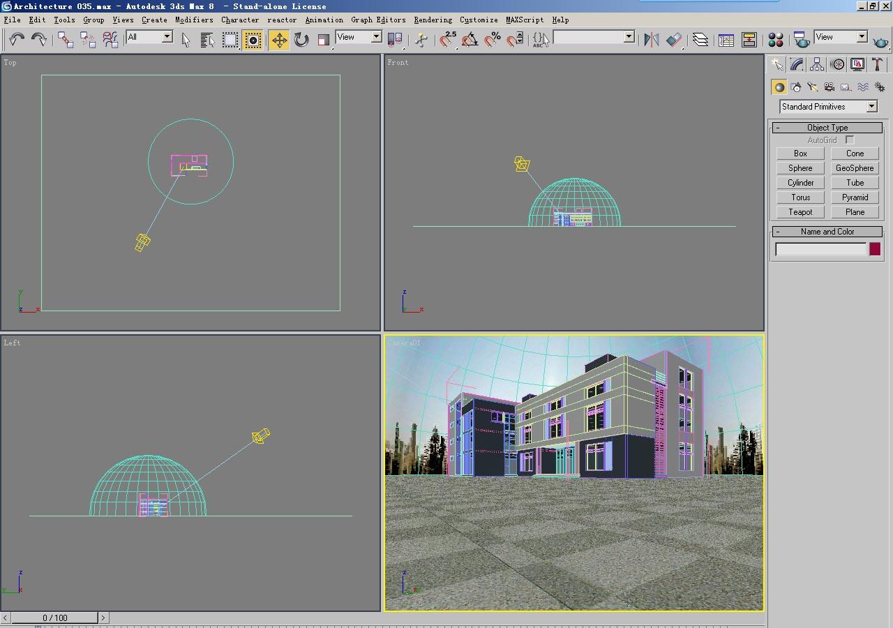 architecture 035 3d model 3ds max 141695