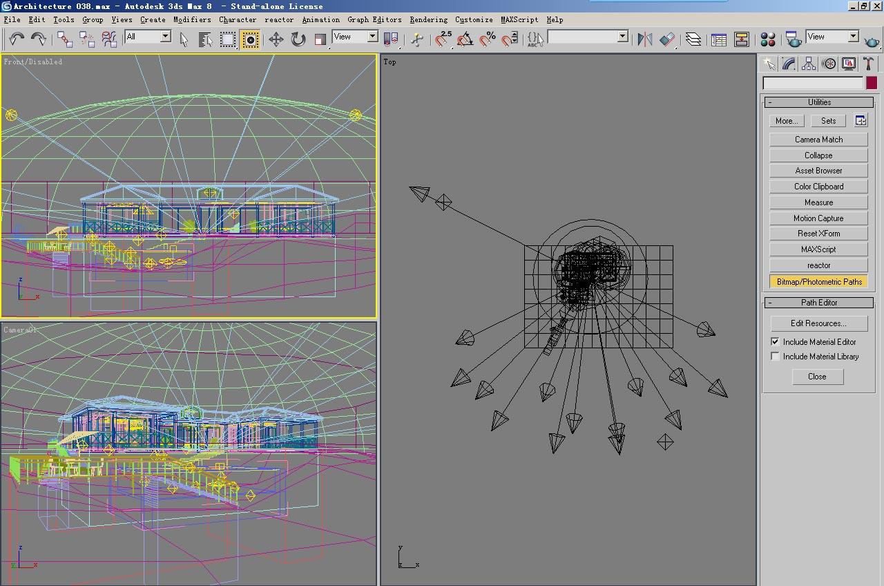 architecture 038 3d model 3ds max 141702