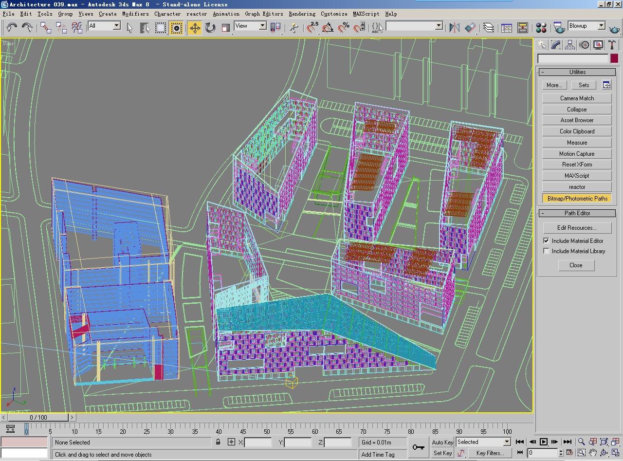 architecture 039 3d model max 141704