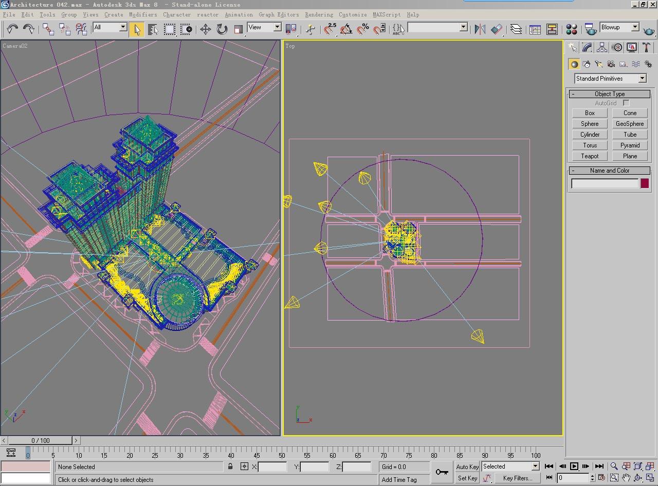 architecture 042 3d model max psd 141709