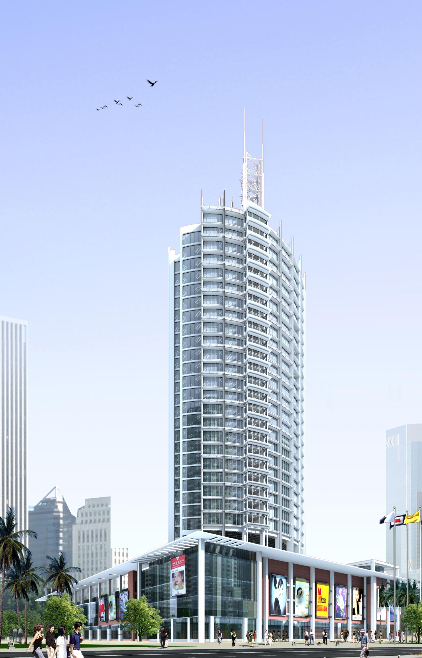 architecture 044 3d model max 141800