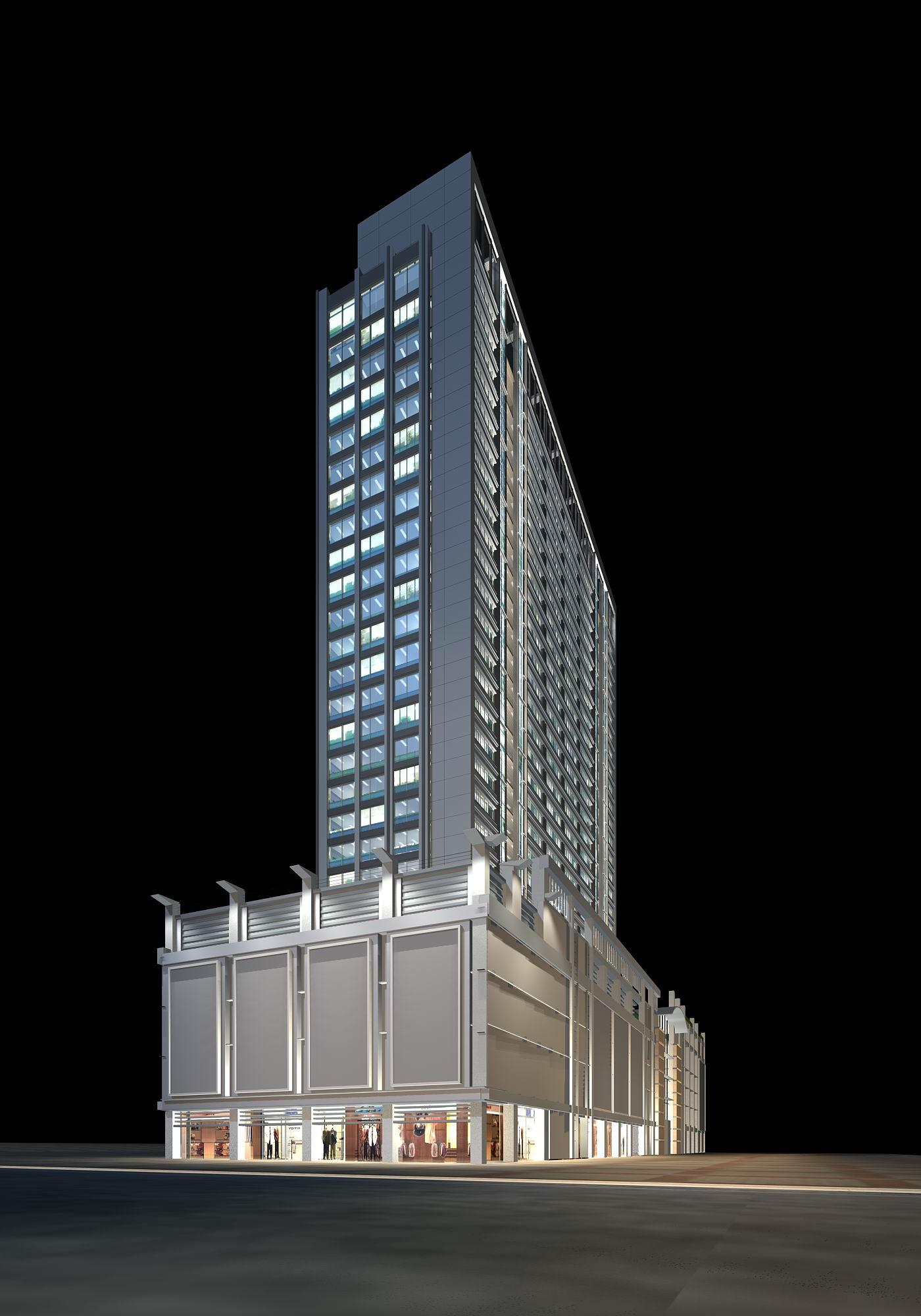 architecture 055 3d model max psd 141807