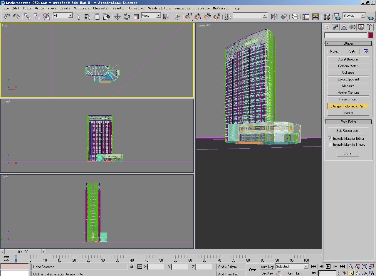 architecture 059 3d model 3ds max 141818