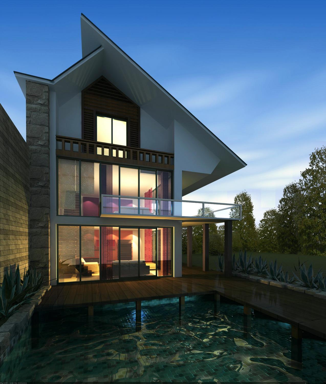 architecture 074 3d model max psd 142245