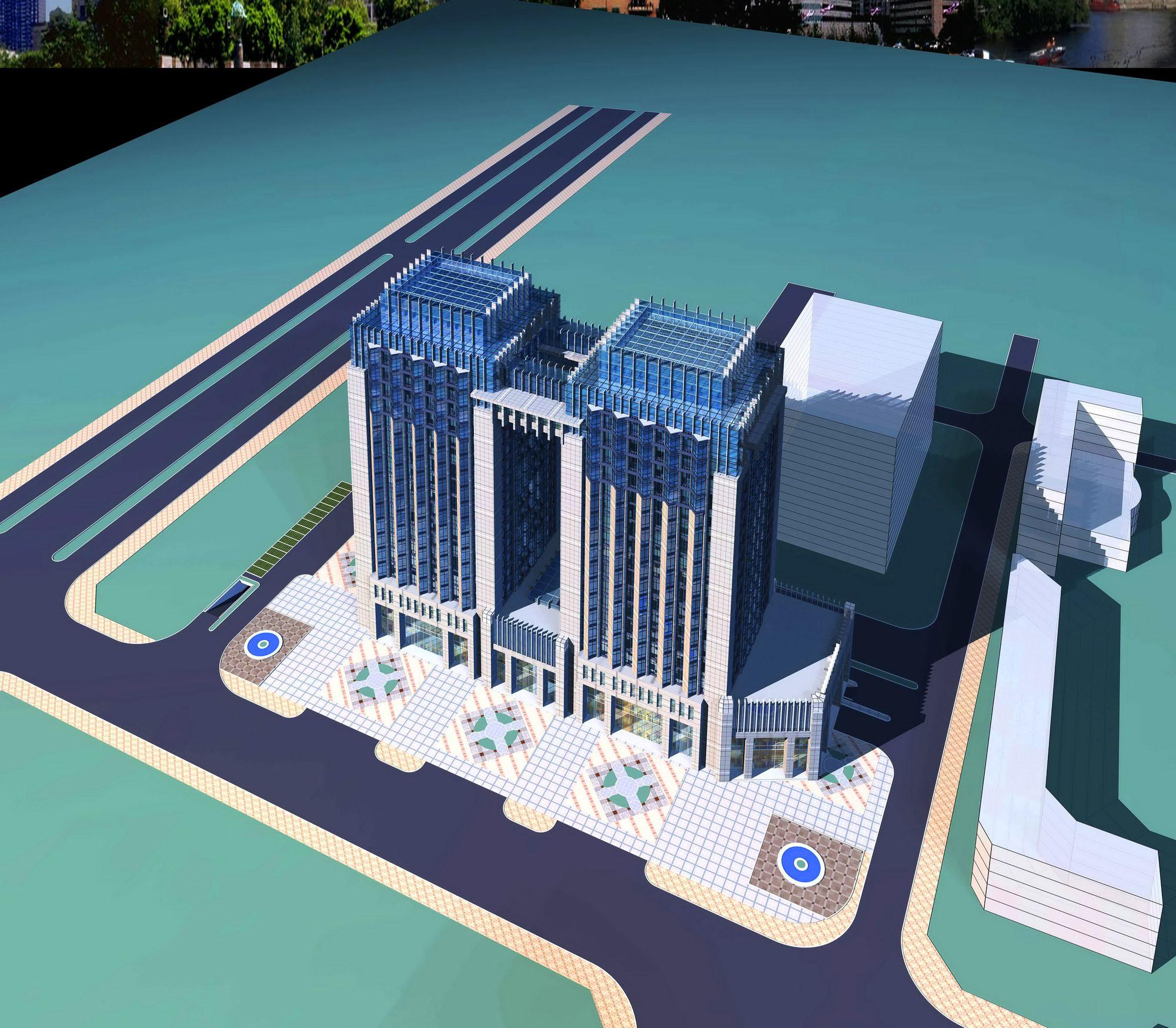 architecture 2472 3d model max 143826
