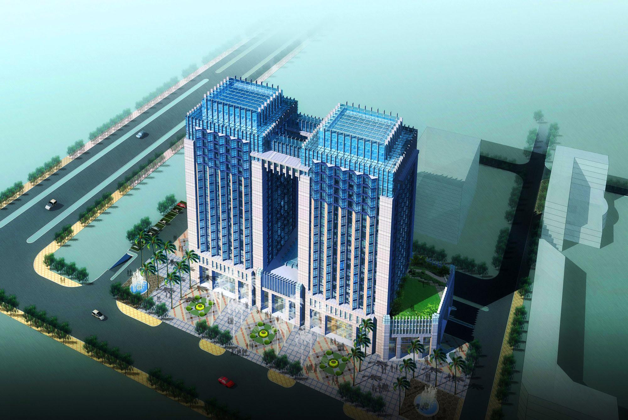 architecture 2472 3d model max 143829